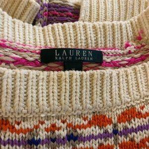 Ralph Lauren Sweaters - Ralph Lauren Boatneck Tunic Fair Isle Sweater